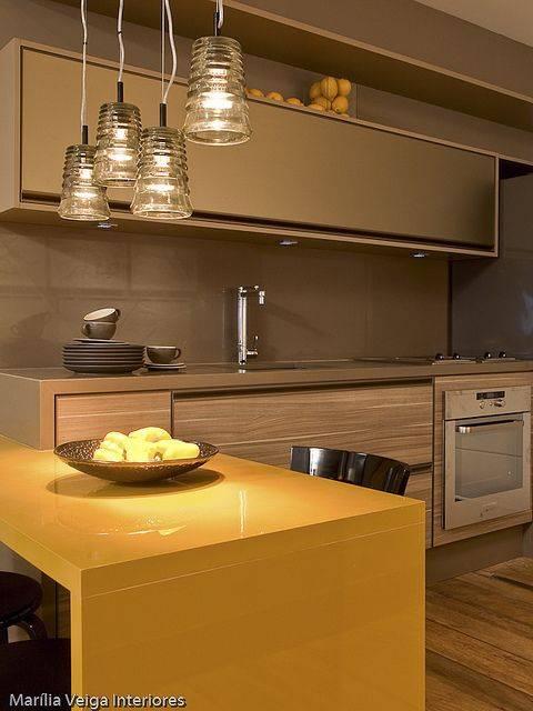 cozinha cor bege
