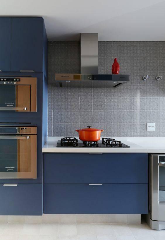 cozinha modulada azul
