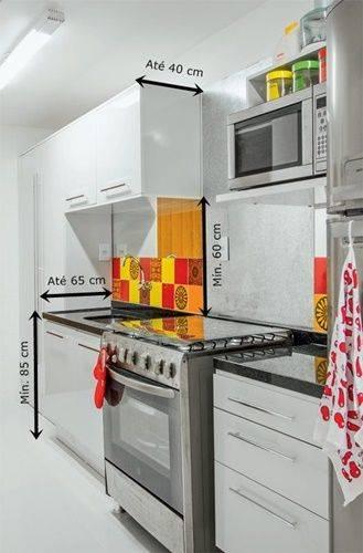 Aparador Amarelo Laqueado ~ Cozinha Planejada 207 modelos com dicas e projetos 2017 [Fotos]