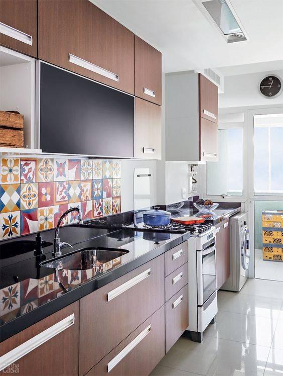 cozinha plenejada longa