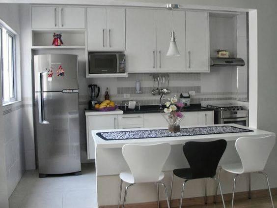 cozinha projeto bancada
