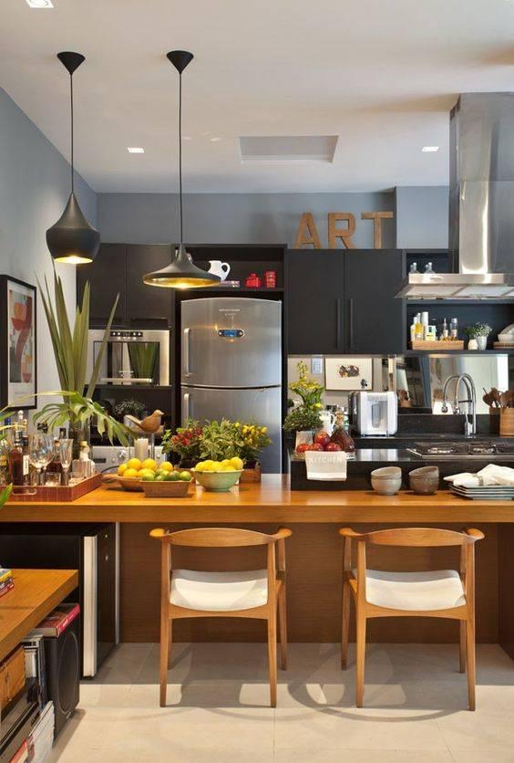 decoração na cozinha modulada