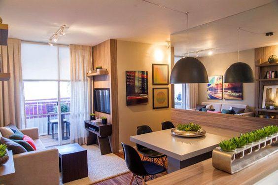 decoraçao de apartamento pequeno