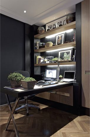 home office em preto