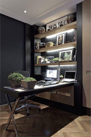 home office em preto