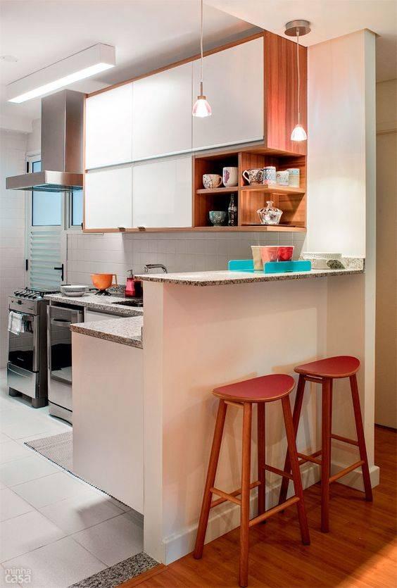 Fotos de cozinha planejada americana pequena 55