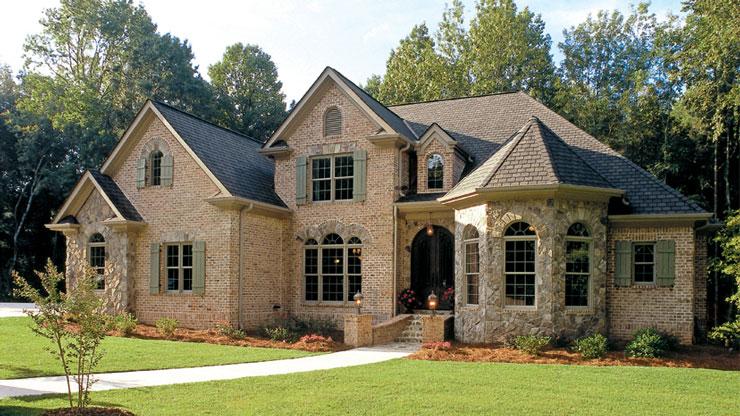 Casas de campo americanas em pedra