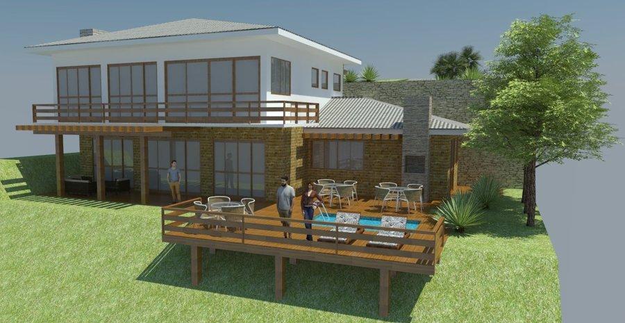 Casas de campo com deck modelos