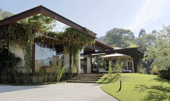 Casas de campo com uma arquitetura linda