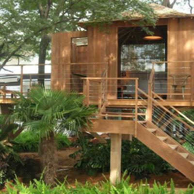 Casas de campo de baixo custo de madeira