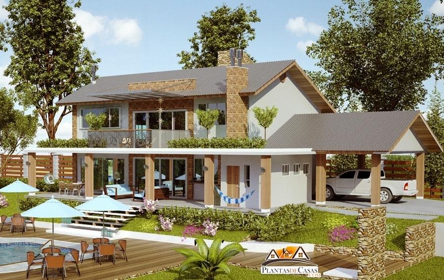 Casas de campo duplex