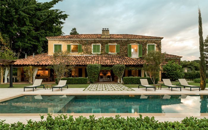 Casas de campo estilo toscano