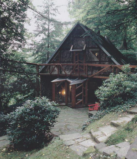bola para luxo uma casa simples estilo cabana uma opo de baixo custo ressaltando que algumas vezes essas casas so muito por dentro