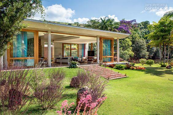 Casa de campo veja mais de 60 fotos incr veis for Imagenes de jardines de casas de campo