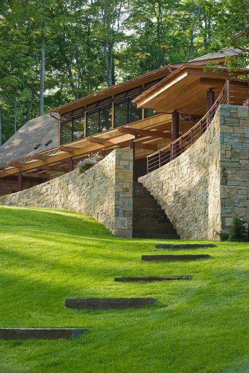 casa de campo fachada moderna