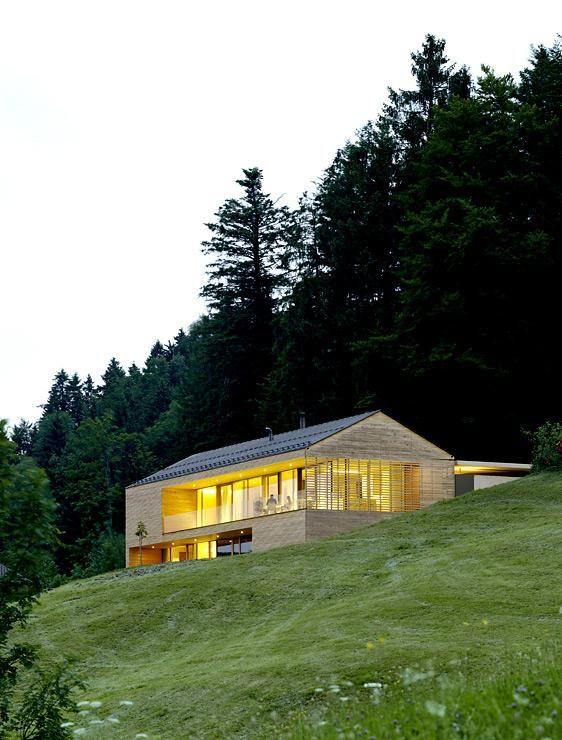 casa de campo isolada