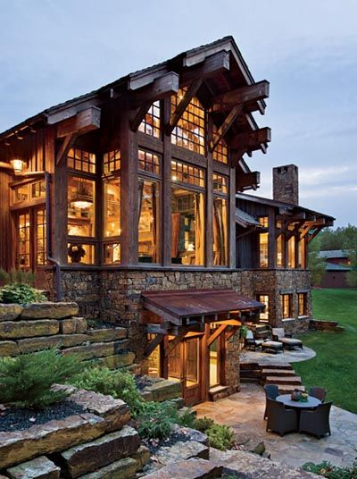 casa de campo linda