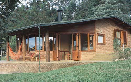 casa de campo simples