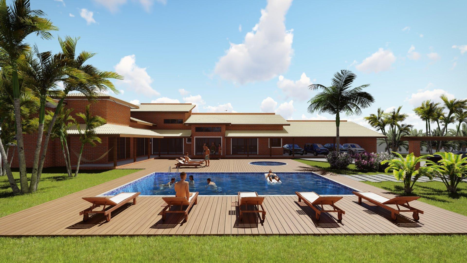 Casa de campo veja mais de 60 fotos incr veis for Modelos de piscinas de campo