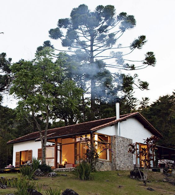 fogão a lenha casa de campo