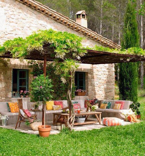 quintal para relaxar