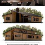 Fotos de plantas de casas com fachadas