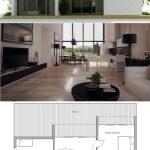 Fotos de plantas de casas com fachadas brancas