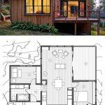 Fotos de plantas de casas com fachadas em madeira
