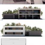Fotos de plantas de casas com fachadas garagem lateral