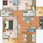 Imagens de plantas de casas quarto de casal lateral