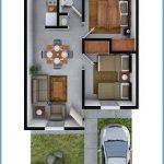 Plantas de casas simples garagem na frente