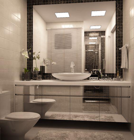 Mais de 100 Banheiros Planejados  As Melhores Dicas Para Você -> Banheiros Planejados Com Granito