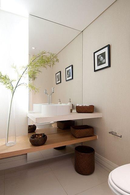 Mais de 100 Banheiros Planejados  As Melhores Dicas Para Você -> Decoracao Banheiro Clean