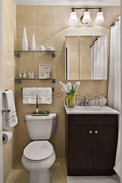 banheiro com pouco espaço