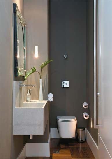 banheiro sem espaço