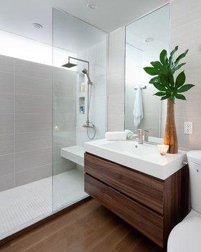 decoração com plantas no banheir
