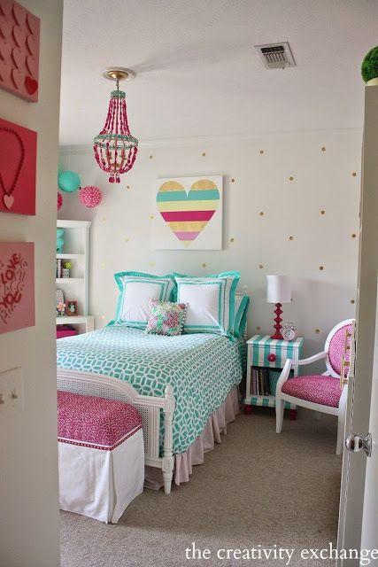 decoração de quarto para menina