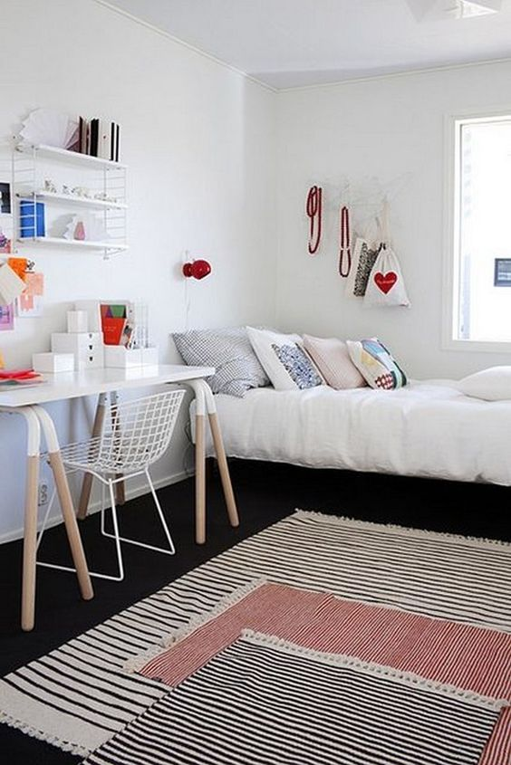 Quartos de menina veja mais de 100 fotos com dicas - Decorar dormitorio juvenil pequeno ...