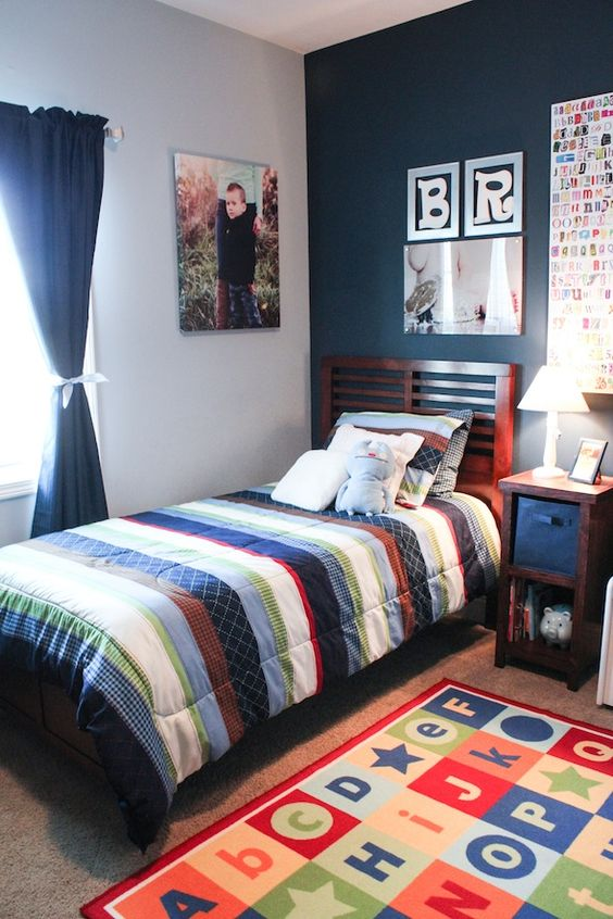 Quarto de menino decora o da inf ncia a adolesc ncia fotos for Room decor for 10 year old boy