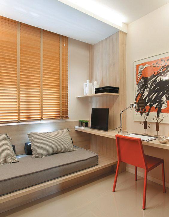 decoração simples quarto masculino