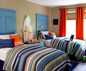 decoração surfr quarto para menino