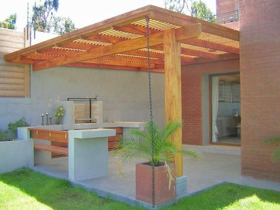 Veja 50 modelos de ed culas com dicas e se inspire for Ideas para hacer un techo en el patio