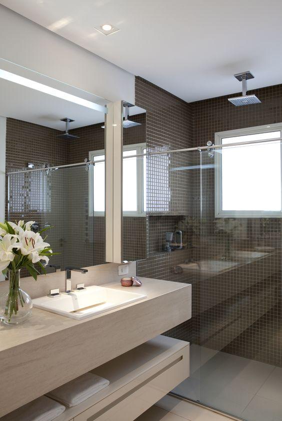 espaço do banheiro