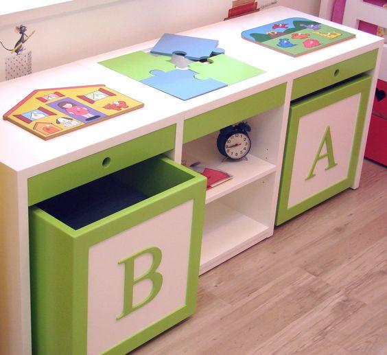 Quartos de menina veja mais de 100 fotos com dicas - Muebles para juguetes infantiles ...