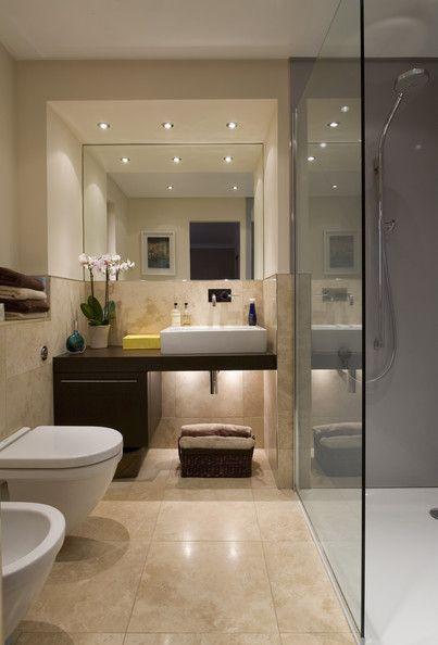 iluminação no banheiro