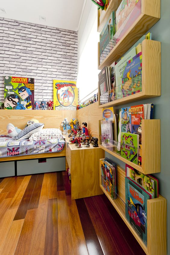 mini bibloteca infantil