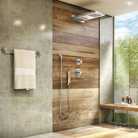 parede de pallet no banheiro