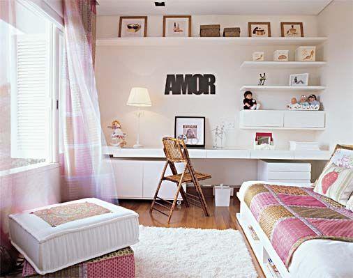 parede de quarto decorada