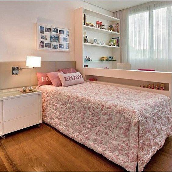 quarto com duas camas para irmas