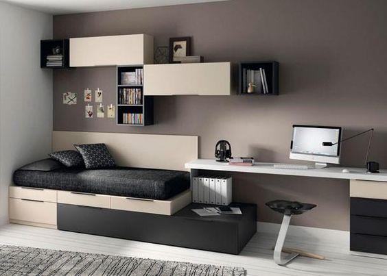 Quarto de menino decora o da inf ncia a adolesc ncia fotos for Dormitorios minimalistas pequenos